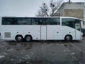 Автобус напрокат 55 мест Киев фото