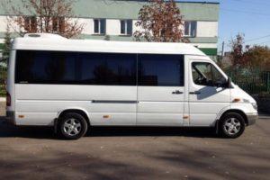 Микроавтобус 18 мест напрокат Киев фото