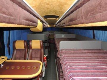 Заказ автобуса со спальными местами