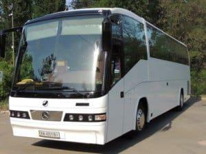 Автобус со спальными местами фото