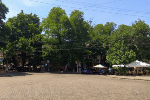 Прогулки по Одессе: Соборная площадь