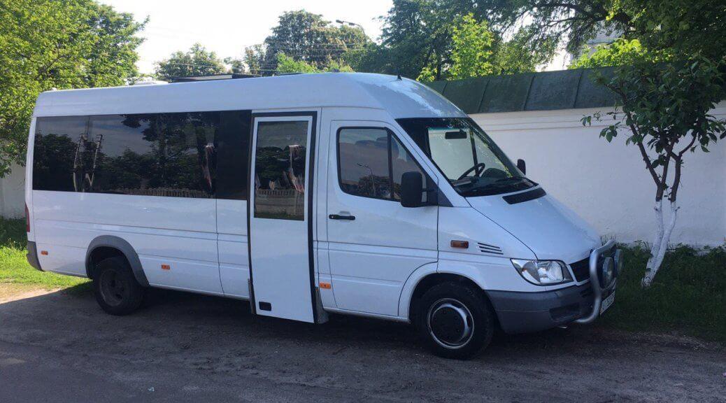 Заказать автобус Mercedes Sprinter 20 мест