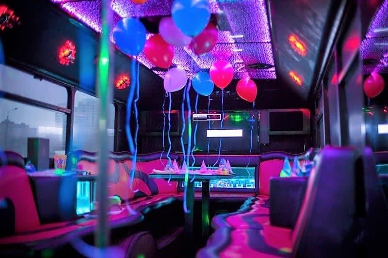 Заказать Party bus