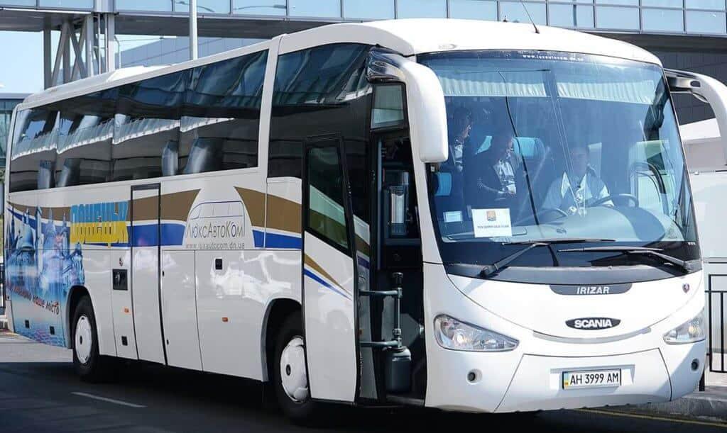 Заказать автобус до 60 мест